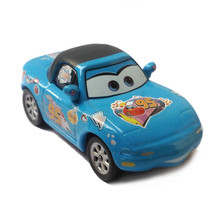 Original Pixar Cars No.95 Cartoon Sticker Diecast Toy Car 1:55 inertia Force McQueen Alloy Metal Toy Racing Model Car 1:55