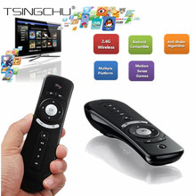 [Original] T2 Fly Air Mouse Gyroscope 2.4G Wireless 3D Mini Sensing Remote For Android TV Box PC 3D Motion Stick Android Remote