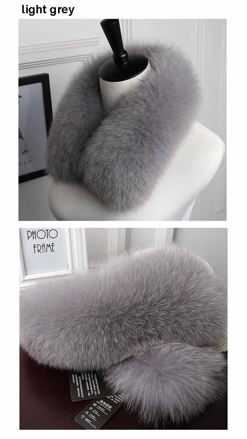 fox fur collar men light grey 2