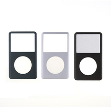 For iPod Classic 80GB 120GB 160GB 6TH 7TH Gen Black  / Gray / Silver Faceplate Front Cover Housing