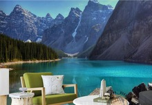 custom 3d wallpaper Lake in the United States and the lake 3d photo wall papers home decor living room murals