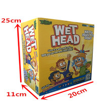 Wet Head Game Funny water challenge Jokes & Funny toys, Family Desktop Toys roulette game for kids(China)
