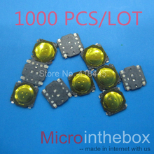 1000PCS/LOT Tact switch 3.7x3.7x0.35 Ultra thin mini micro 4pin smd small size for wearable device watch headset(China)