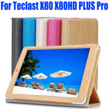 For Teclast X80HD X80 PLUS X80 Pro Case Luxury PU Leather Flip cover tablet pc Stand Case For TECLAST X80 8 INCH TL09(China)