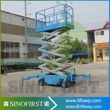 Various Working Capacity Mini Electric Lift Table/Scissor Lift