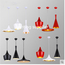New thick aluminum beat musical instrument Hanging pendant light Restaurant bar living room bedroom lighting ABC Sets Free EMS