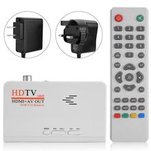 Digital 1080P HD HDMI DVB-T2 TV Box Tuner Receiver Converter with Remote Control Without VGA Port dvb-t2 receiver(China)