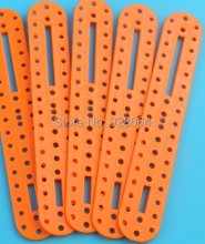 10pcs Porous plastic rod / robot parts / quadruped robot stand / leg joints/toy accessories/Technology model parts(China)