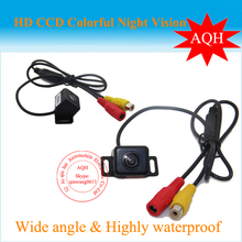 Free Shipping 170 Degree Night Vision Car Rear View Camera Reverse Backup Camera Color For all kinds of cars(China)