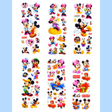 6 Sheets Cute Cartoon Mouse Scrapbooking Bubble Puffy Stickers Kawaii Emoji Reward Kids Children Toys Factory Direct Sales 01-20