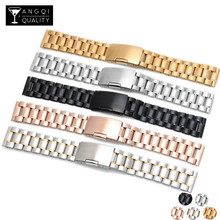 16/18/19/20/21/22/24/26MM Stainless Steel For Casio Watch Bands for Seiko Multifunction Watch Strap Solid Brand Watchband Belt