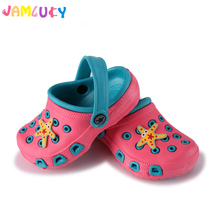 Fashion Children Slippers Summer Girls Shoes Cute Cartoon Comfortable Kids Slippers Anti-Slip Girls Slippers Beach Shoes Kids