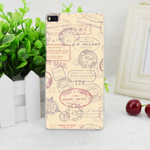 A1850 Dyefor Passport Chic Travel Stamp Transparent Hard Thin Skin Case Cover For Huawei P 6 7 8 9 Lite Plus Honor 6 7 4C 4X G7