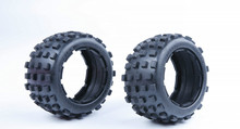 Rovan parts 1/5 gas rc baja spare parts NEW PRODUCT 5B knobby tyre skin with inside cloth 95254(China)