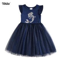 PKR 930.61  46%OFF | Summer Tutu Dress for Girls Dresses Kids Unicorn Vestidos Girls Princess Dress Birthday Party Costumes Children Sequined Clothes