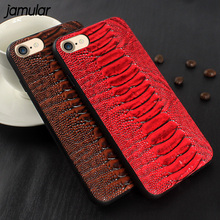 Buy JAMULAR Crocodile Pattern Full Protective Phone Case iPhone 8 7 6 6s Plus Hard Phone Cases iPhone 7 8 Plus Cover Fundas for $2.79 in AliExpress store