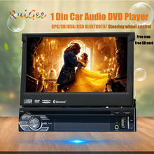 "7 "" one din Touch Screen HD cd dvd-player car audio GPS navigator 1din stereo audio DVD automotive 1 Din car radio audio stereo"