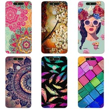 RuCover Soft Case For ZTE Blade V8 Lite 5.0 inch Shell Cover Pattern Painted TPU Silicone Protector Case for ZTE V8 Lite Cases