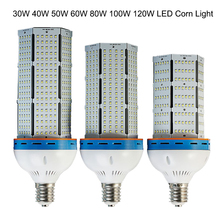 50pcs/lot DHL shipping 100W LED corn bulb lamp E40 E27 SMD 2835 LED warehouse lighting with MeanWell LED power,industrial light