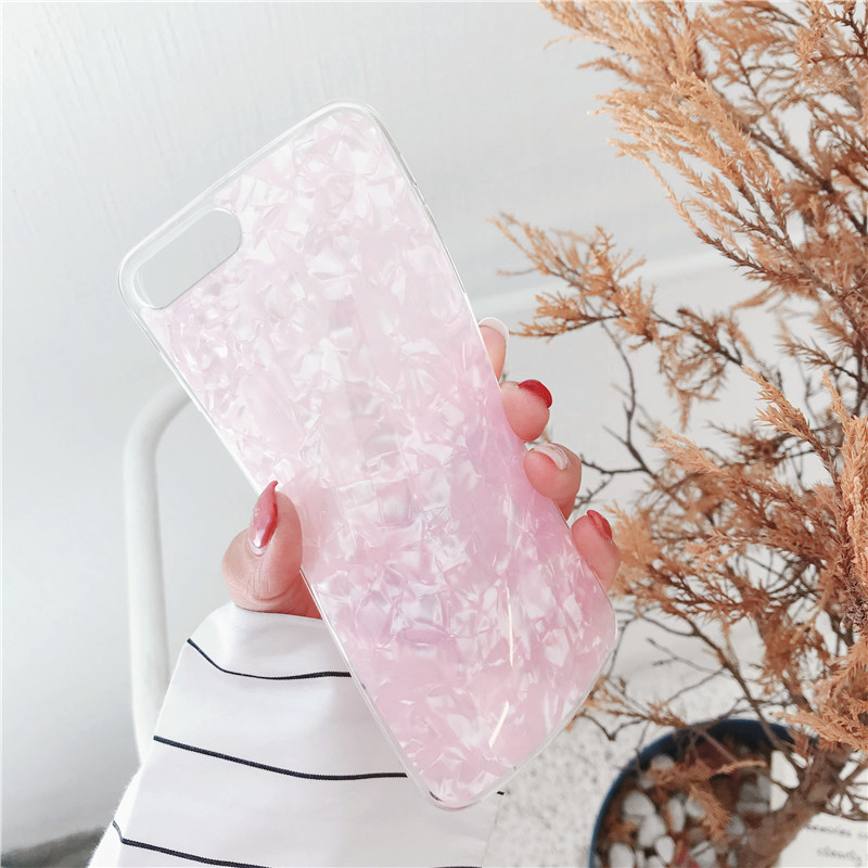 Motjerna Simple Luxurious Mobile Phone Shell For iPhone X 8 7 6 6S Soft Silicone Back Cover TPU Case For iPhone 8 7 6S 6 Plus