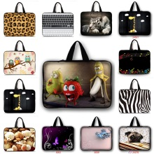 Neoprene Hot Cartoon bag 12 11.6 13 13.3 15 15.4 17 17.3 10 10.1 7 7.9 inch notebook computer tablet laptop sleeve bag cases