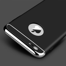 Luxury Fashion Alluminum Case For iphone 6 Cases 6s Plus 5 5s SE for iPhone 7 Case 7 Plus Hard full body Cover Phone Cases(China)