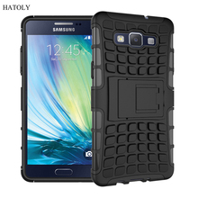 For Samsung Galaxy A5 Case A5000 A500F Heavy Duty Armor Shockproof Hybrid Hard Rugged Rubber Phone Cover For Samsung A5 2015 *<