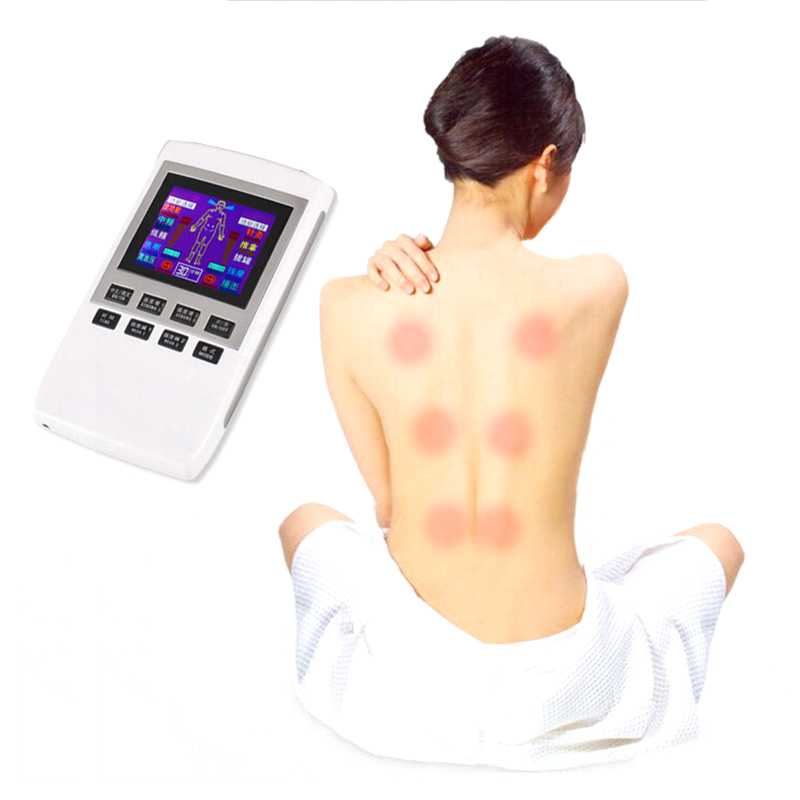 Pain Relief Body Slimming Electrical Therapy Physiotherapy Pulse Massager Muscle Stimulator LCD<br>