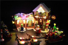 LED Light Building Blocks Toy (Only light set) For lego 10245 Santa's Workshop The Father Christmas' Working Room Winter