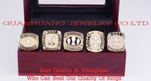 Who Can Beat Our Rings,High Quality Super Bowl 1981/1984/1988/1989/1994 San Francisco 49ers Championship ring with Wooden Box(China)