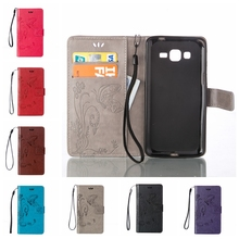 ACE 4 Neo Leather Case Wallet Cases For Samsung galaxy ace 4 neo sm-g318h /trend 2 lite g318h g318 Cover Phone Case Coque