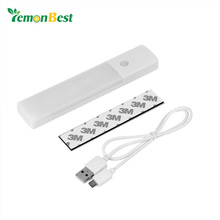 Rechargeable IR Motion Sensor LED Wall Light High Quality Rapid Induction Auto On/Off Wall Lamp for Hallway Pathway Staircase