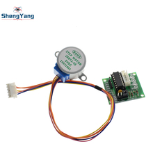 Buy 1LOTS ShengYang 28BYJ-48-5V 4 phase Stepper Motor+ Driver Board ULN2003 Arduino 1xStepper motor +1x ULN2003 Driver board for $1.89 in AliExpress store