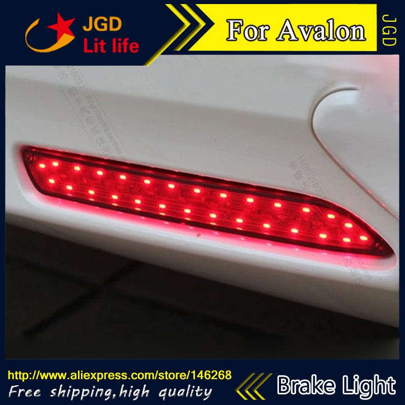 Free shipping Tail light parking warning rear bumper reflector for Toyota Avalon Car styling<br><br>Aliexpress