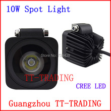 2.5'' 10w led work lights off-road vehicle driving light Truck Trailer Motorcycle Motor Heavy Duty DC 10V-30V