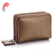 Buy New Genuine Leather Women Men ID Card Holder Card Wallet Purse Credit Card Vintage Bank Business Card Holder Protector Organizer for $8.99 in AliExpress store