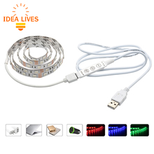 5V USB LED Strip 5050 RGB with mini Controller Set 60LEDs/m 50CM / 1M / 2M Set.