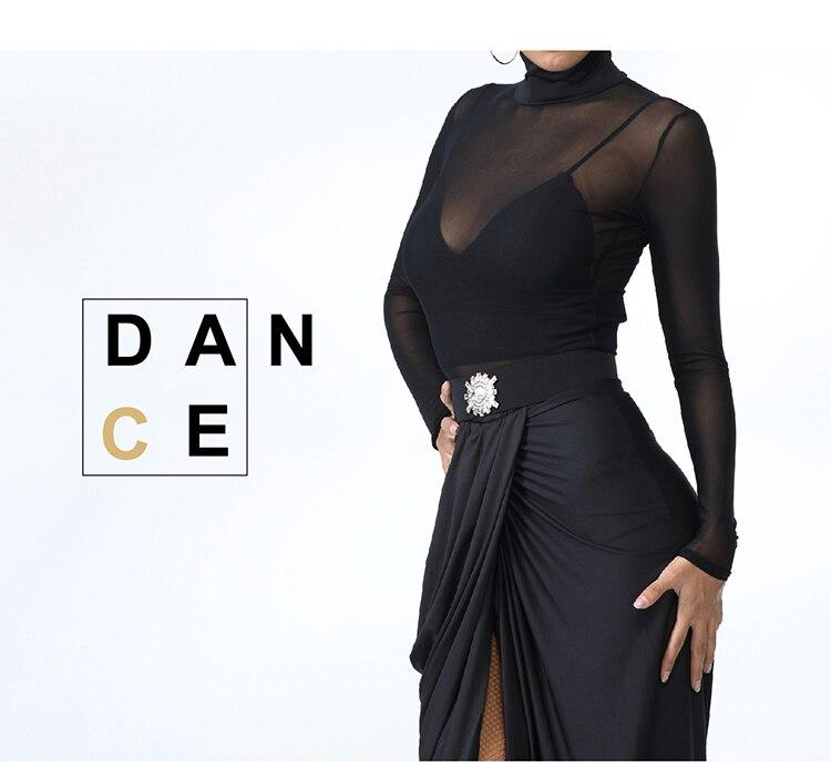 Pratique Latine Translucide Usure Acheter Manches Zym Danse Style f6Y7bgy