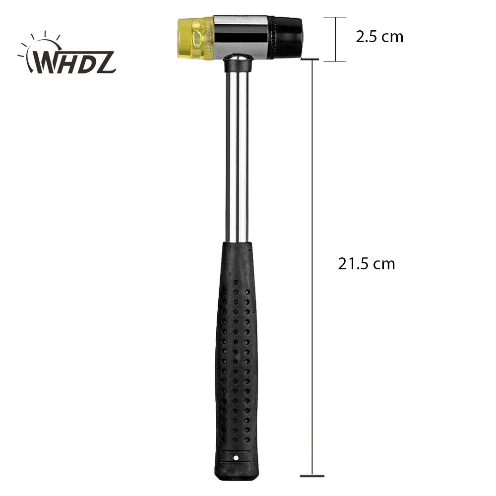 WHDZ PDR Tools Dent Removal Paintless Dent Repair Tools PDR Hammer Tap Down Tools PDR Toolkit Hand Tool Set Rubber Hammer