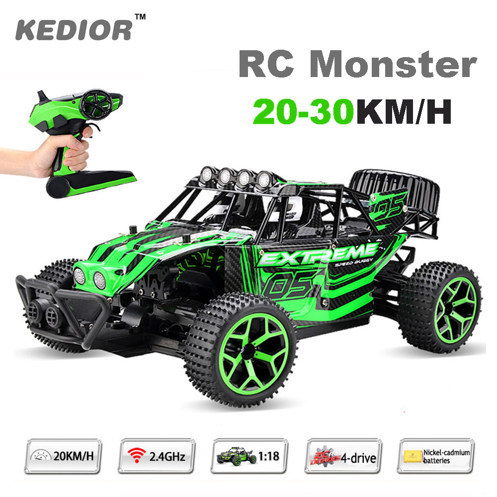 1:18 RC Car Drift Remote Control Buggies Radio Con...