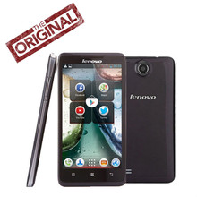 Original lenovo A766 Mobile Phone MTK6589M Quad Core 1.2GHz Android 4.2 5.0'' IPS 854*480p 5MP WCDMA Multi  Language Russian