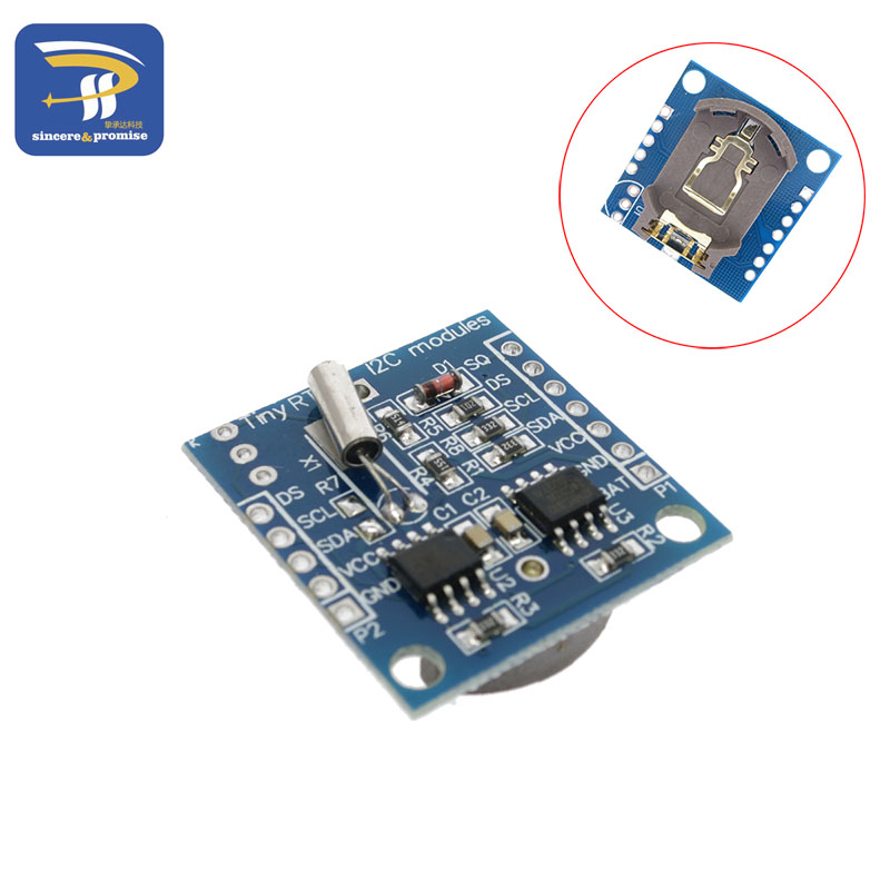 1PCS Tiny RTC I2C modules 24C32 memory DS1307 clock RTC module  (without battery)