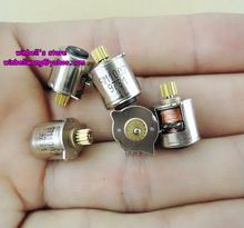 10pcs!10mm stepping motor 10.2*10.2MM micro stepper motor 4-lead with copper gears,new in stock ~