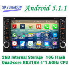 Android 5.1.1 Quad Core Car DVD Player For Toyota Crown Previa Tundra Sequoia Aversis Majority Matrix Cowry Stereo Radio DAB GPS