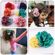 Flower Girl Kids Hairpin Hair Clip Bobby Pins Barrette Style Accessories For Head Hair Ornaments Hairgrip Hairclip Tiaras ST-4(China)