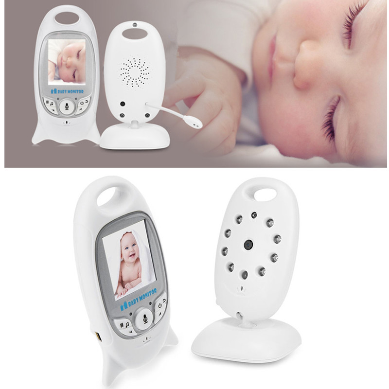 Infant Wireless Video Security Camera Baby Sleeping Monitor with Night Vision Two-way Talk Temperature Monitoring for Baby Sleep