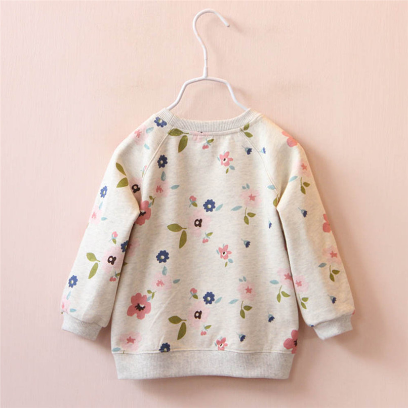 Long Sleeve Girls Tops Winter 2018 Baby GirlsTops And Tees Toddler Kids Baby Girls Floral Printed T-Shirt Tops and Blouses S14#F (8)