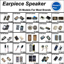 25 Models 50PCS Earpiece Speaker Earphone Receiver With Gift For All Cellphone Common Universal Compatible Used(China)