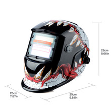 New Solar Auto Darkening Welder Welding Helmet ARC TIG MIG Grinding Mask Mouth(China)