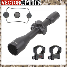 Vector Optics Marksman 10x44 Sniper Crystal Clear Riflescope Tactical Waterproof High Shock Resistance Scope with MP Reticle(China)